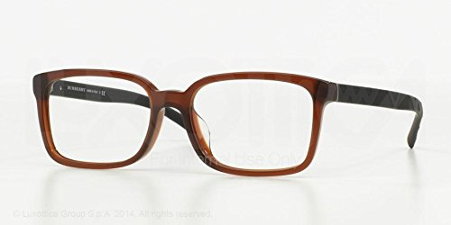 Burberry Eyeglasses BE2175 3500 Brown 55 17 - Reading Burberry Glasses