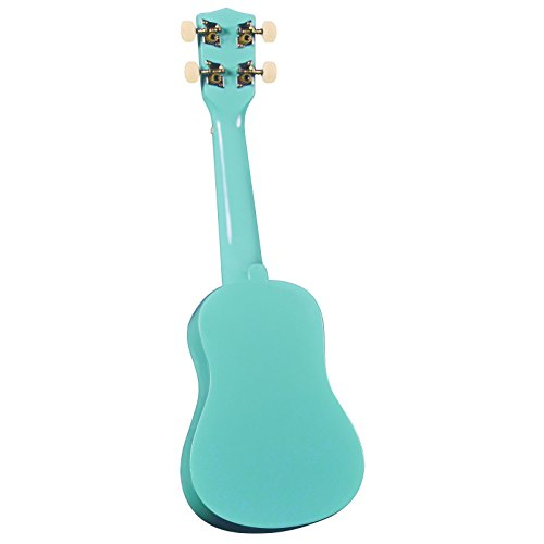 Diamond Head, 4-String Soprano Ukulele, Turquoise (DU-116)