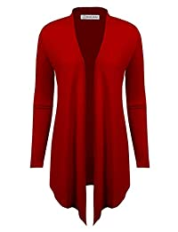 BIADANI suéter liviano con Parte Frontal Abierta para Mujer