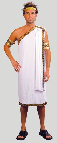 White Men's Caesar Costume ()