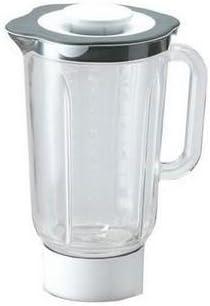 Kenwood Chef KM201 - Recambio de vaso de cristal termorresistente de 1,5 L, compatible para robot de cocina: Amazon.es: Hogar