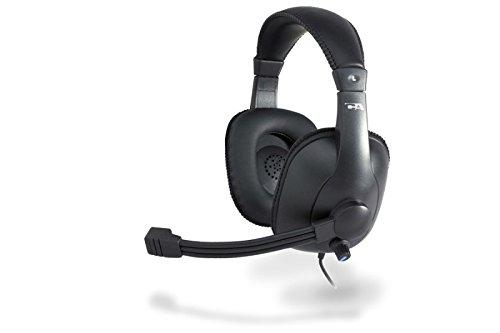Cyber Acoustics AC 967 Headset, Black (AC-967)