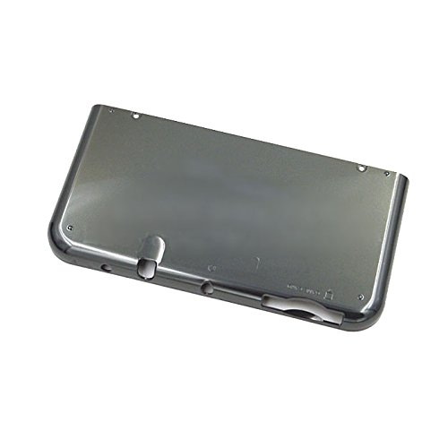 Feicuan Main Engine Bottom Cover Shell Case Replacement Part Repair for New 3DSLL/XL US Edition Host -Black