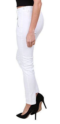 Donna Vita A Denim Pantaloni Onado Stretch Jeans Bianco 44 36 Slim Regular Da xfdq6wH4Y