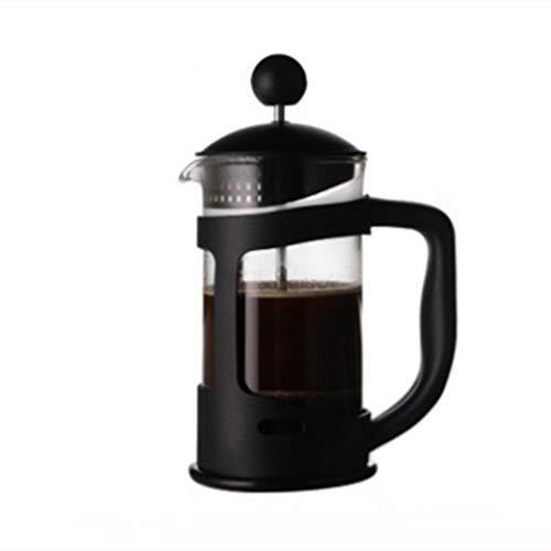 LIUXING-Home Cafetera Francesa Hogar preparación de café pote de Cristal del té del café del hogar de la máquina…