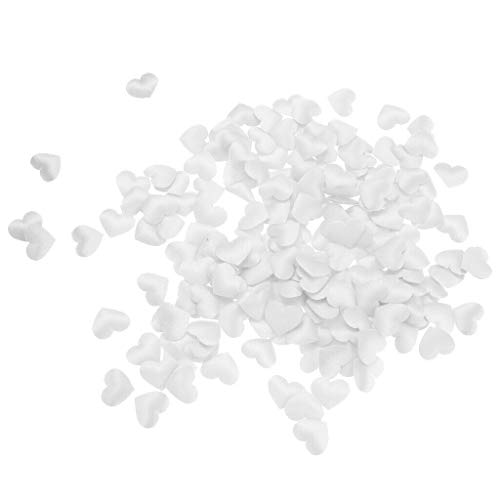 1000 Pieces Wedding Confetti Heart Shape Petal Fabric Table Confetti Party |Color - - Cone Template Petal