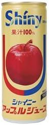 青森県りんごジュース シャイニー アップルジュース レギュラー 250g缶×30本入