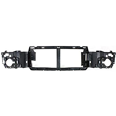 Header Panel Compatible with FORD F-SERIES SUPER DUTY 2005-2007 Grille Opening Panel Reinforcement ABS Plastic: Automotive