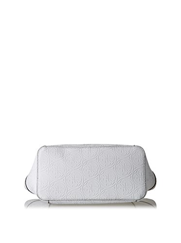 Guess - Bolso de tela para mujer Blanco