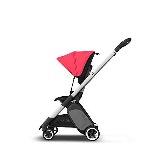 Bugaboo Ant – carrito ligero de viaje con plegado compacto, se convierte en un carrito (Rojo)