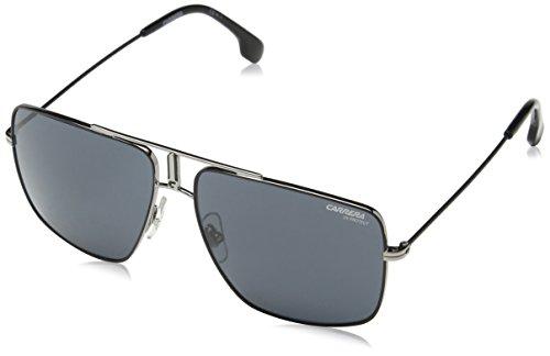 Carrera Unisex-Adult Carrera 1006/s Aviator Sunglasses, RUT MTBLK, 60 mm