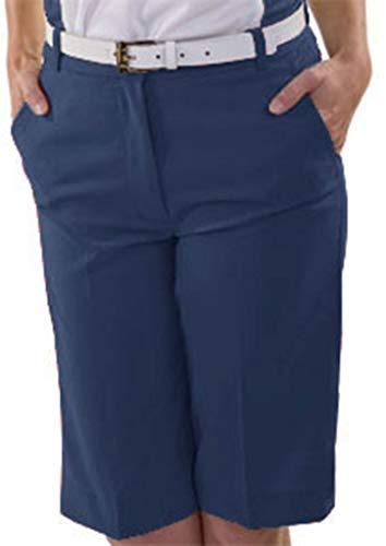 Monterey Club Ladies Fairway Crop Capri #2819 (Navy, Size:18)