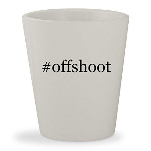 #offshoot - White Hashtag Ceramic 1.5oz Shot - White Offshoot Shaun