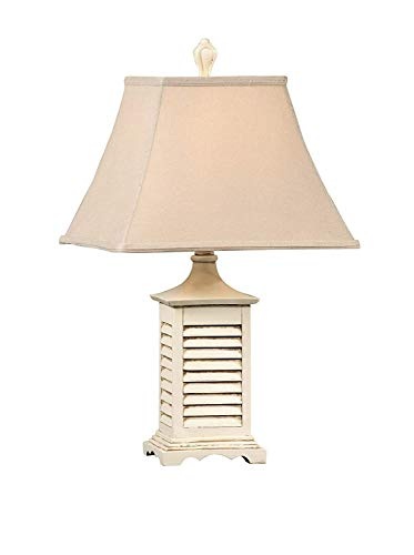 Crestview Collection Cream Shutter Seaside Accent Lamp from Crestview Collection