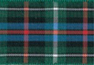 Berisfords Essentials R762210/8 | Rose Woven Tartan Ribbon | 25m x 10mm (Scottish Tartan Ribbon)