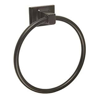 Design House 539239Millbridge Wall-Mounted Towel Ring for Bathroom, Oil Rubbed Bronze, One Size