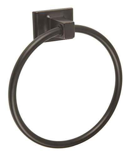Georgian Towel Bar - Design House 539239 Millbridge Towel Ring, Oil Rubbed Bronze