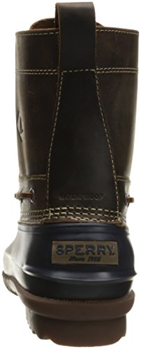 Sperry Top-Sider Mens Decoy Rain Boot Navy/Tan