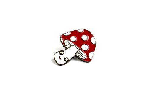 The Kawaii Mushroom Pin (Kawaii Mushroom)