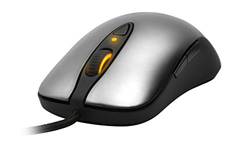 SteelSeries Sensei Laser Gaming Maus silber