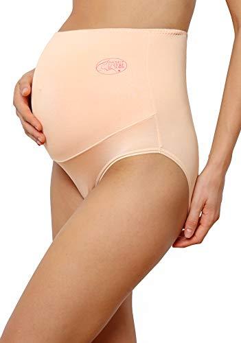 c2c3b7d7a926 Innersy Women's Maternity Underwear Modal High Waist Over Bump Pregnancy  Panties