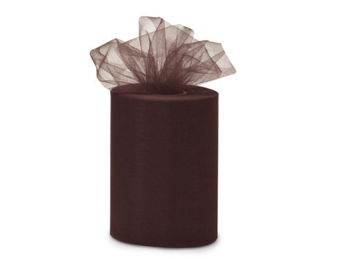 Wedding Tulle Roll BROWN Great Price 6in x 300ft (100 yards long)