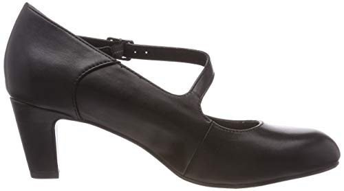 Leather black 24402 Tamaris 3 Mary 21 Jane Black Women''s xgHxqwvC7