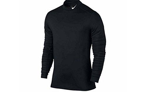 Nike Long-Sleeve Dri-FIT Base Layer Shirt (X-Large, Black)
