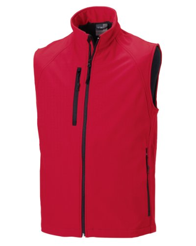 Senza Maniche Red Rosso Russell classic Athletic Gilet Uomo xqUwF