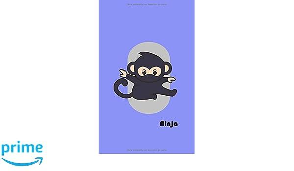 Ninja: Cuaderno para niños con páginas para rellenar, pegar ...