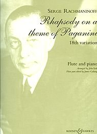Boosey and Hawkes Rhapsody on a Theme of Paganini, Op. 43 Boosey & Hawkes Chamber Music Series by Sergei Rachmaninoff ()