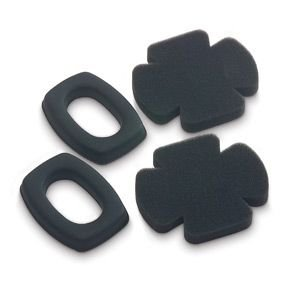 Howard Leight HK4 Replacement Cushions/Foam Inserts for QM24 Ear Muffs