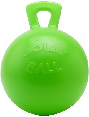 Horsemen's Pride Jolly Ball Horse Toy, Green Apple, 10-inch