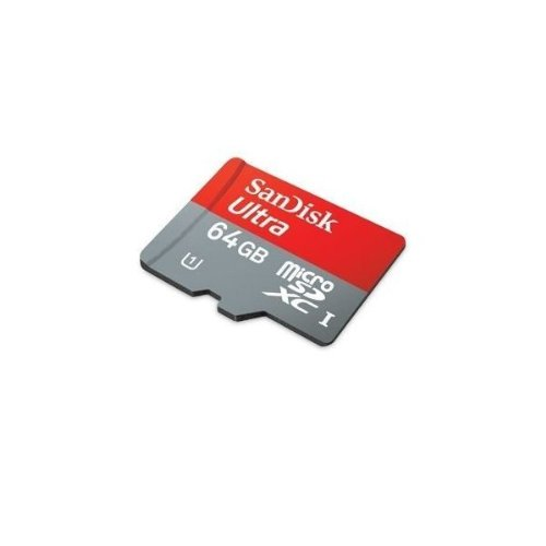Professional Ultra SanDisk 64GB MicroSDXC card is custom formatted for high speed, lossless recording! Includes Standard SD Adapter. (UHS-1 Class 10 Certified 30MB/sec) for GoPro HERO4 Black