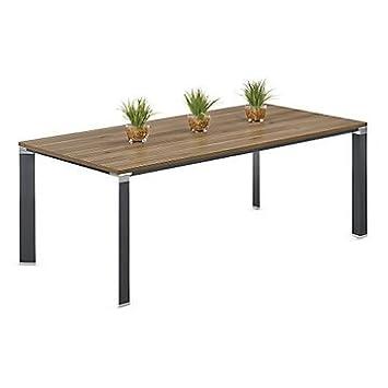 Amazoncom Empire Triangular Leg Conference Table W Office - Triangle conference table