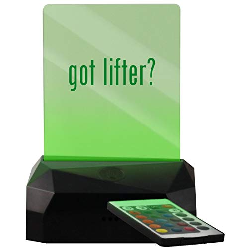 got Lifter? - LED USB Rechargeable Edge Lit Sign (Best Lifters For Ls1)