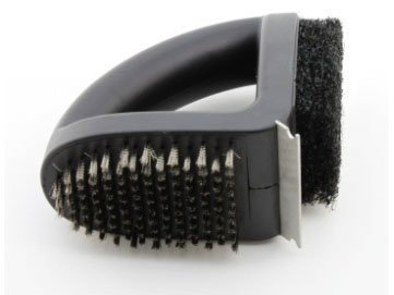 3 in 1 BBQ Cleaner Brush by Outback Crowders 370174