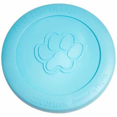 West Paw Zisc Tough Dog Chew Toy Blue -
