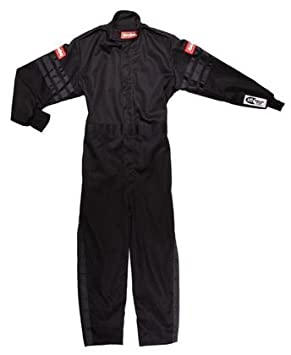 RaceQuip Unisex-Child Kids Single Layer Suit (Black/Purple, X-Large) 1950596