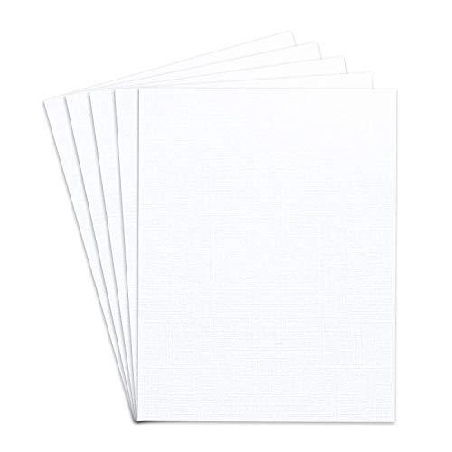 Linen Textured 8.5 x 11