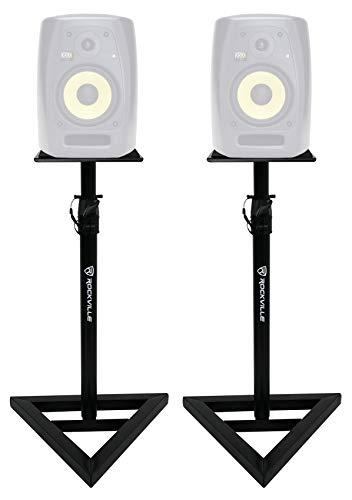 Rockville Adjustable Studio Monitor Speaker Stands For KRK