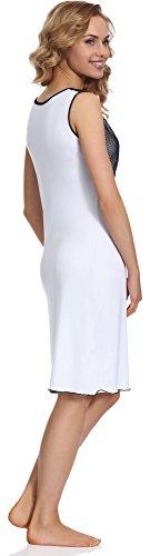 da Style Camicia Merry Bianco Notte MS10 Donna 106 EqvwTxZw