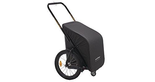 Donkey Classic schwarz - der praktische Anhänger für`s Fahrrad (Stauraum: 65 Liter / Gewicht: 10,5 kg / Zuladung: 40 kg) von Winther