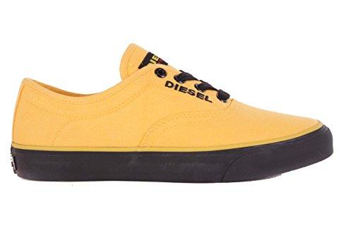 Diesel Damen Sneaker Schnürschuhe Schuhe Gelb #28