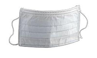 3M 1826 Earloop Fluid Resistant Face Mask - 50/bx