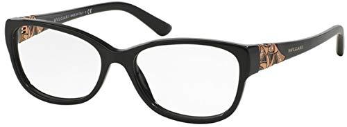 Bvlgari Women's BV4104B Eyeglasses Black 54mm