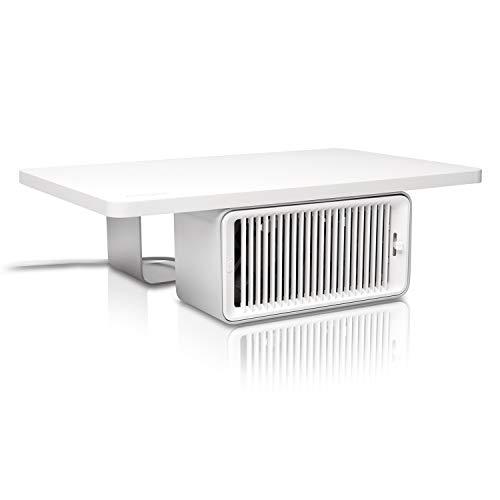 Kensington Cool View Wellness Monitor Stand with Desk Fan (K55855WW) by Kensington