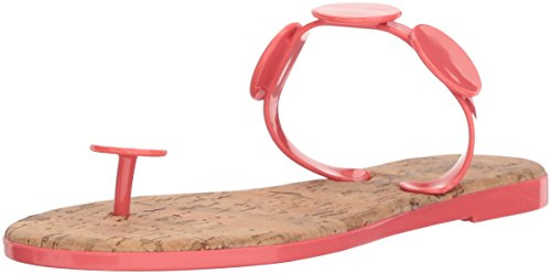 Jelly Moon (Bernardo Women's New Moon Jelly Flip-Flop, Pink Rubber, 9M M US)