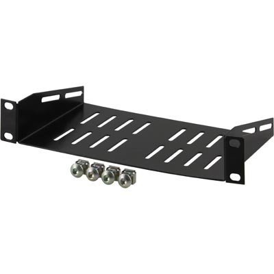 1U Vented Shelf for 10 Inch Network Cabinets