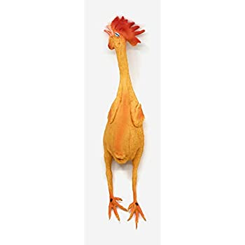 Amazon.com : Lovely Baby Dog Safe Latex Screaming Chicken